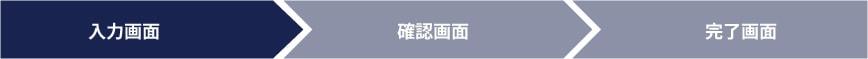 入力状況イメージ1(入力画面)